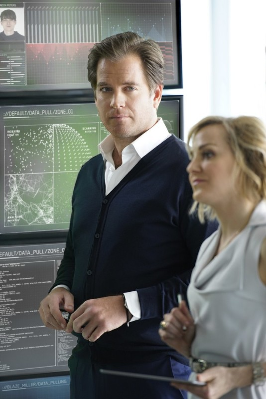 Michael Weatherly as Dr. Jason Bull and Geneva Carr as Marissa Morgan Photo: David M. Russell/CBS©2016 CBS Broadcasting, Inc. All Rights Reserved