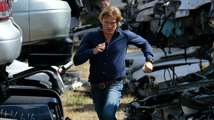 """Pictured: Lucas Till as Angus """"Mac"""" MacGyver. Photo: Guy D'Alema/CBS2016 CBS Broadcasting, Inc. All Rights Reserved"""