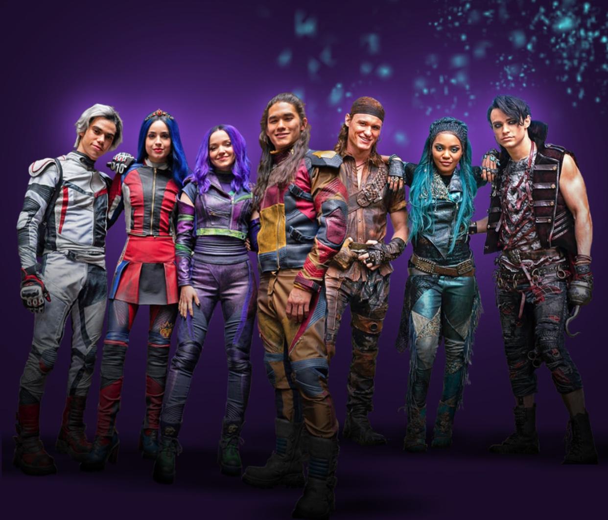 Descendants 3 - all new character images revealed - HeyUGuys