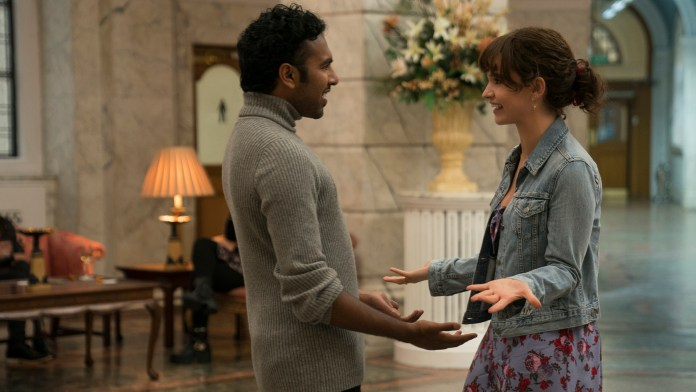 Himesh Patel andLily James in Danny Boyle's Yesterday.