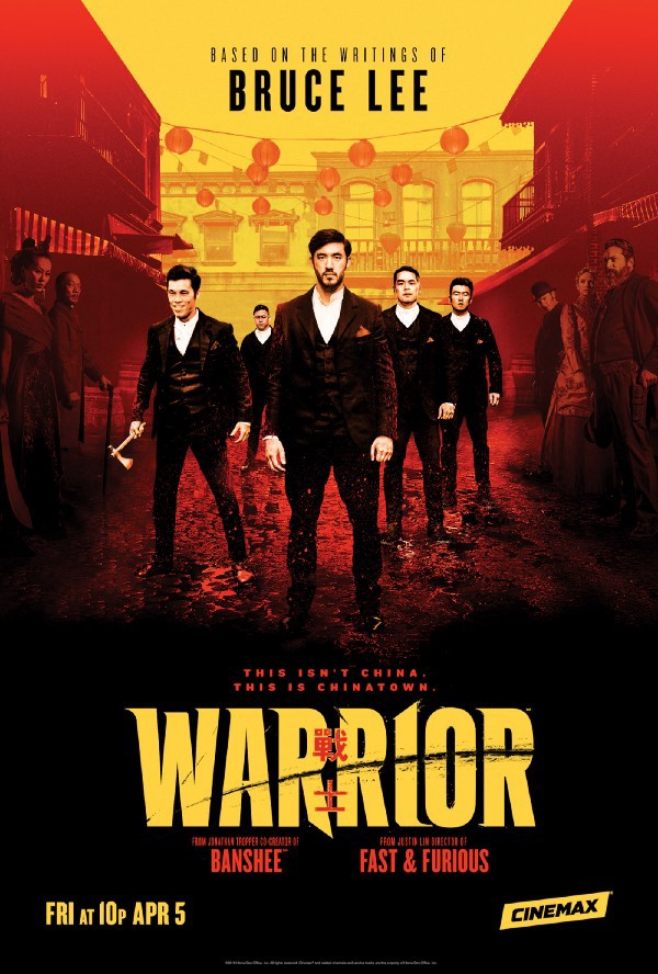 Warrior Poster. WARRIOR debuts today Friday 5th April 2019 on Cinemax in the US and will air on Sky One and NOW TV in the UK.