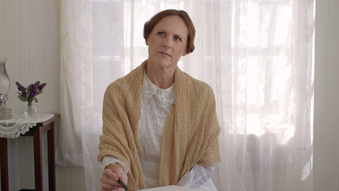 Molly Shannon in Wild Nights With Emily. Greenwich Entertainment.