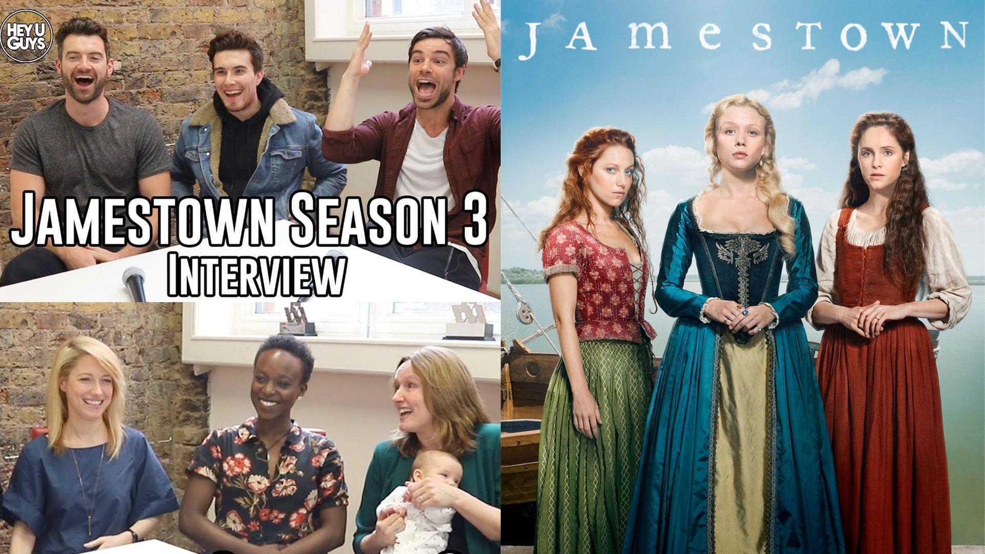 jamestown season 3 interviews