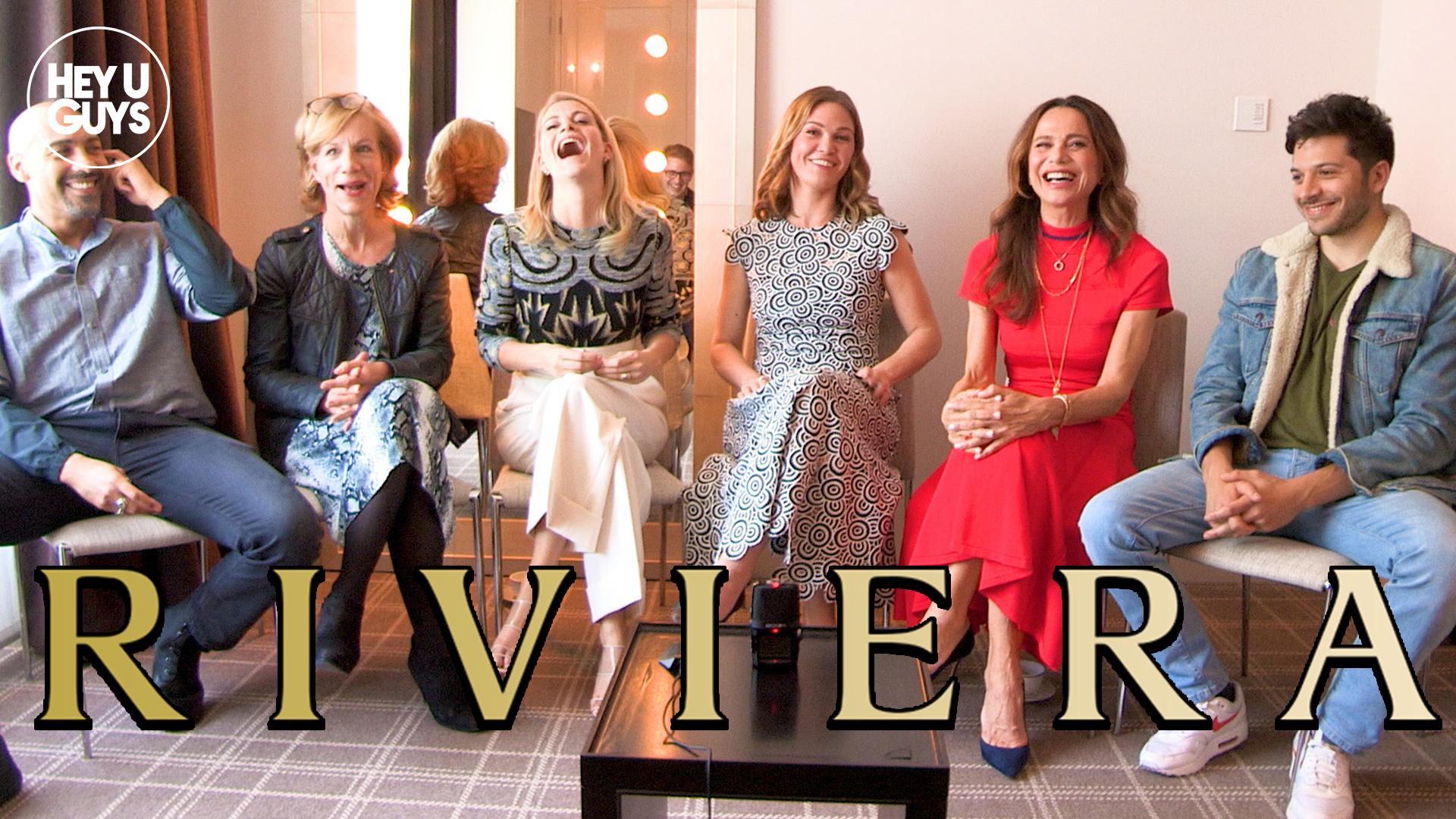 riviera cast interviews