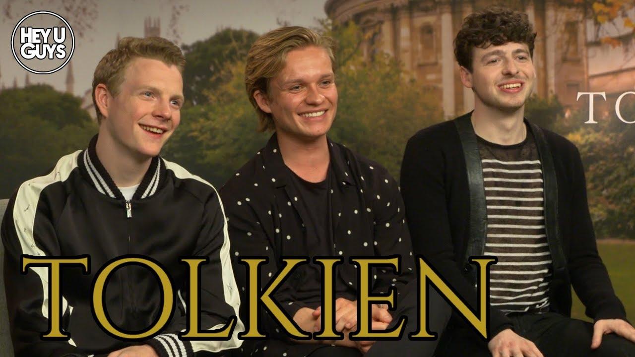tolkien cast interviews