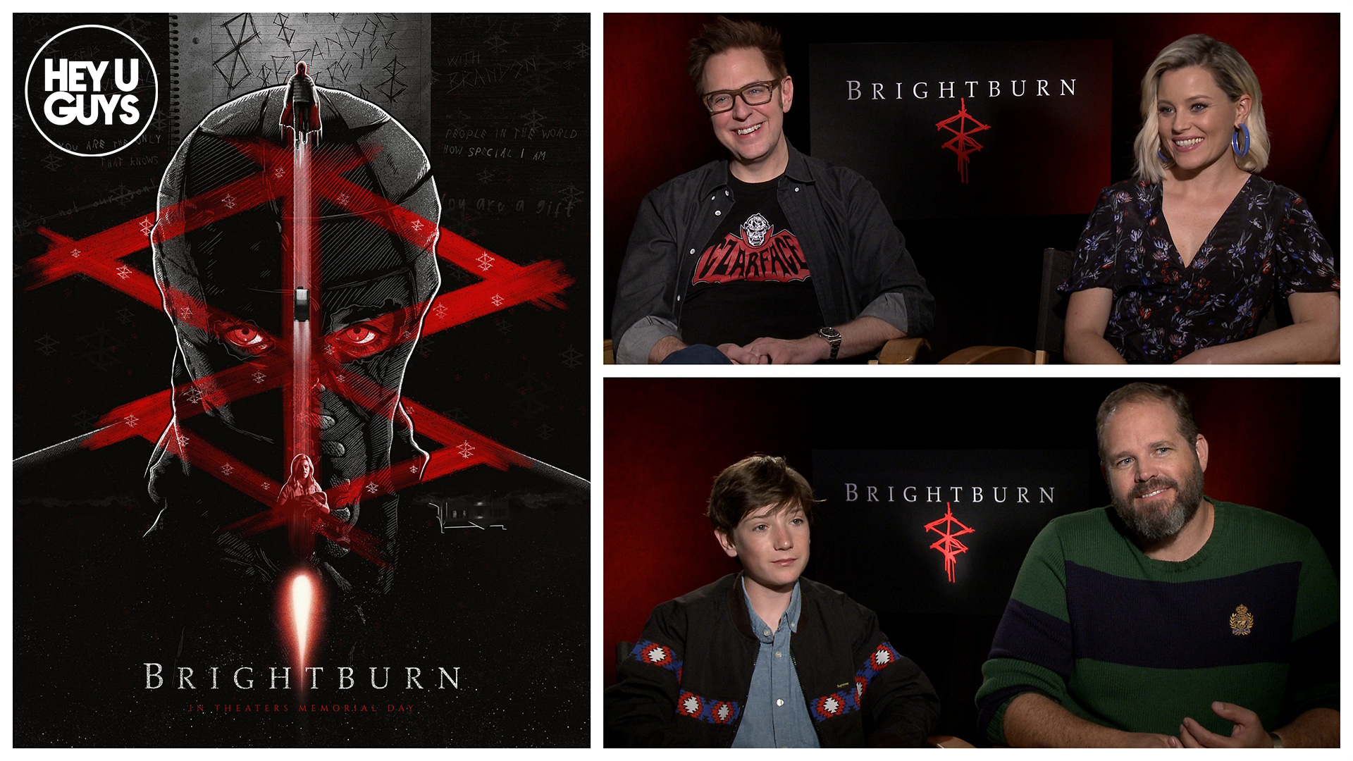 Brightburn cast interviews
