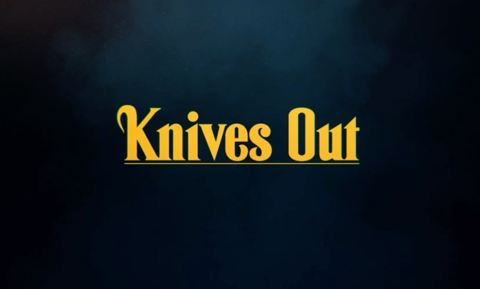 knives out logo