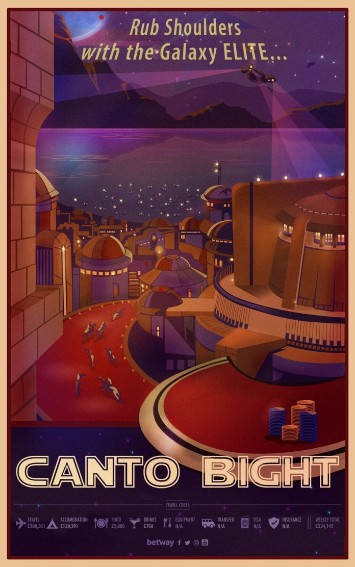 canto bight travel poster