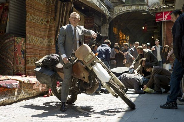 james bond grand bazaar