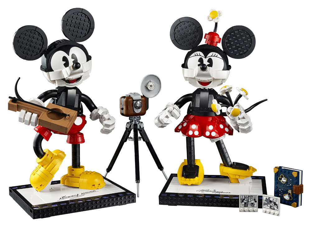 Lego Disney Mickey and Minnie Buildable Characters_3