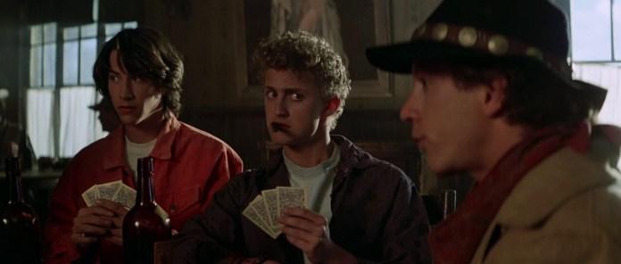 bill ted poker