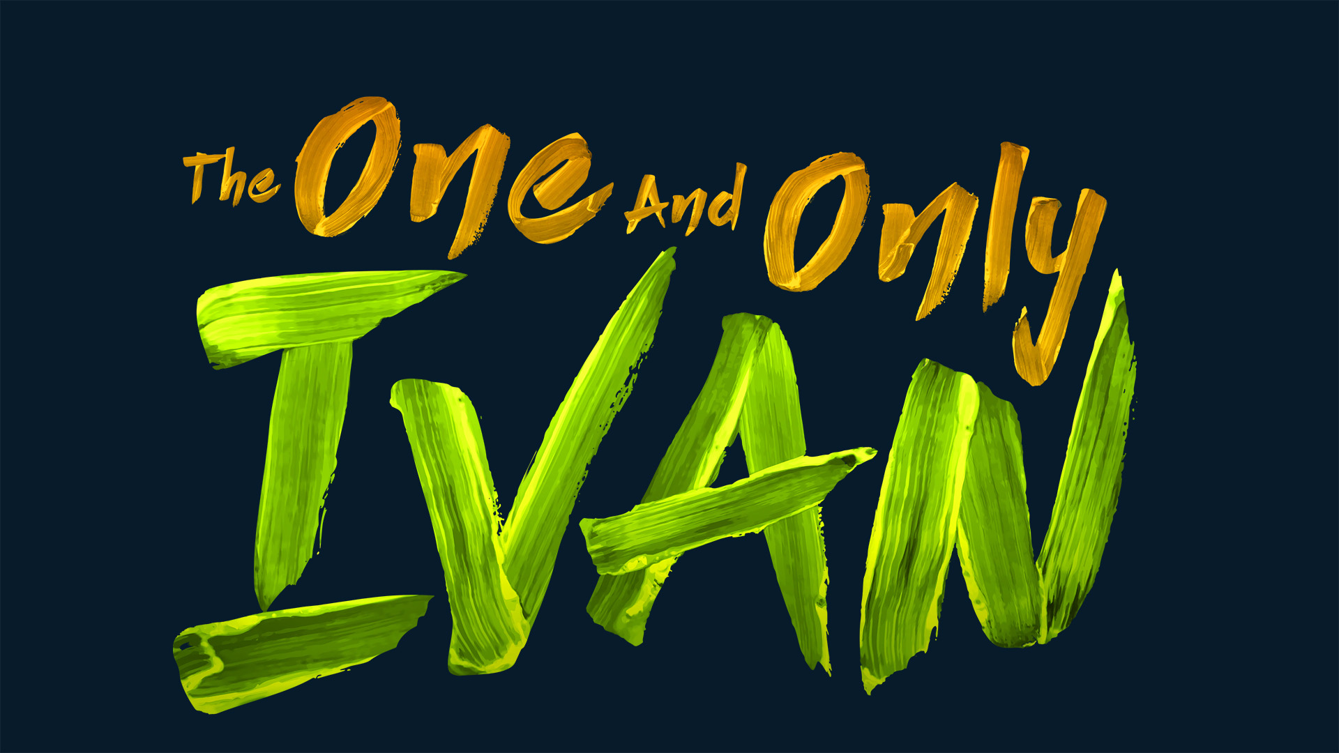 The One and Only Ivan Logo