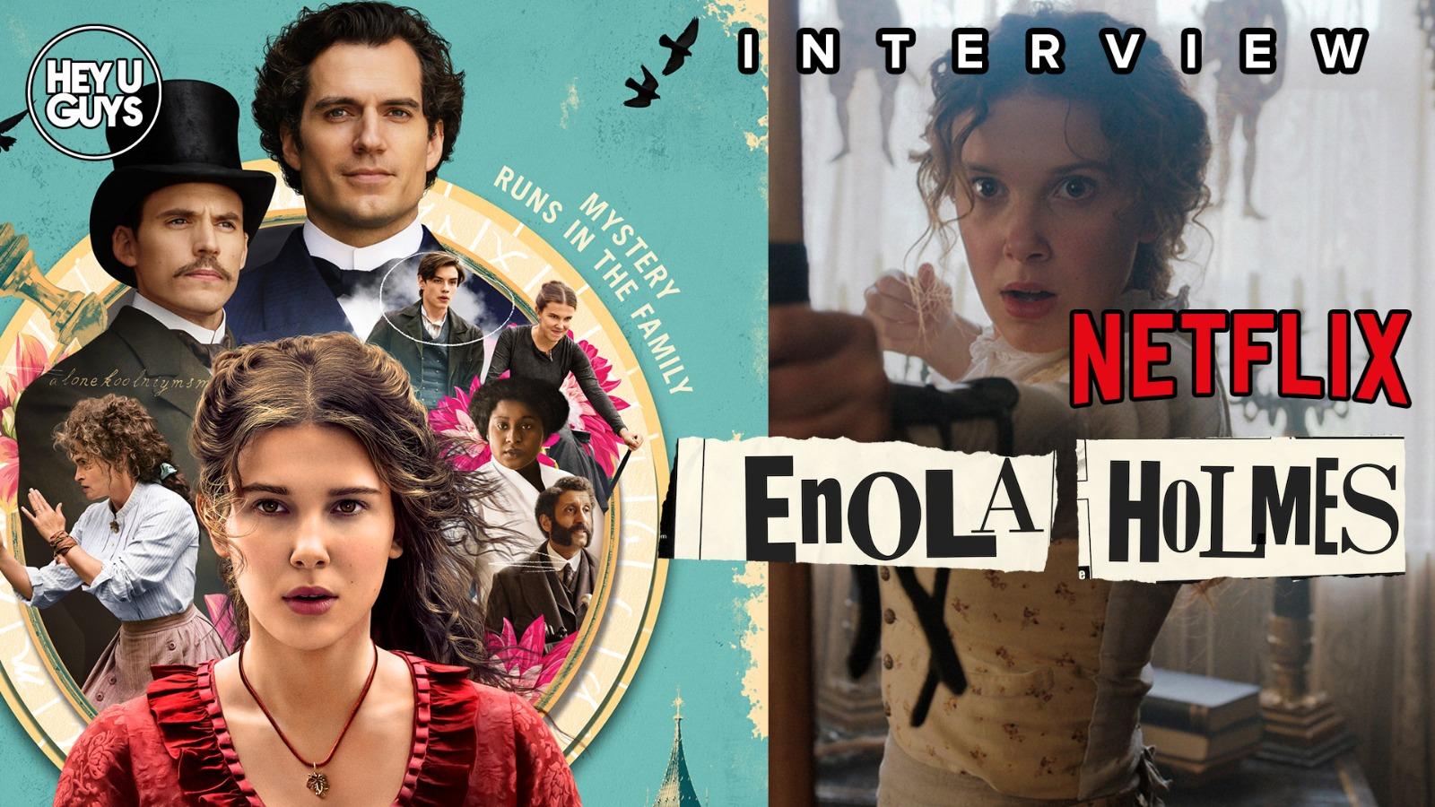 enola holmes cast interviews