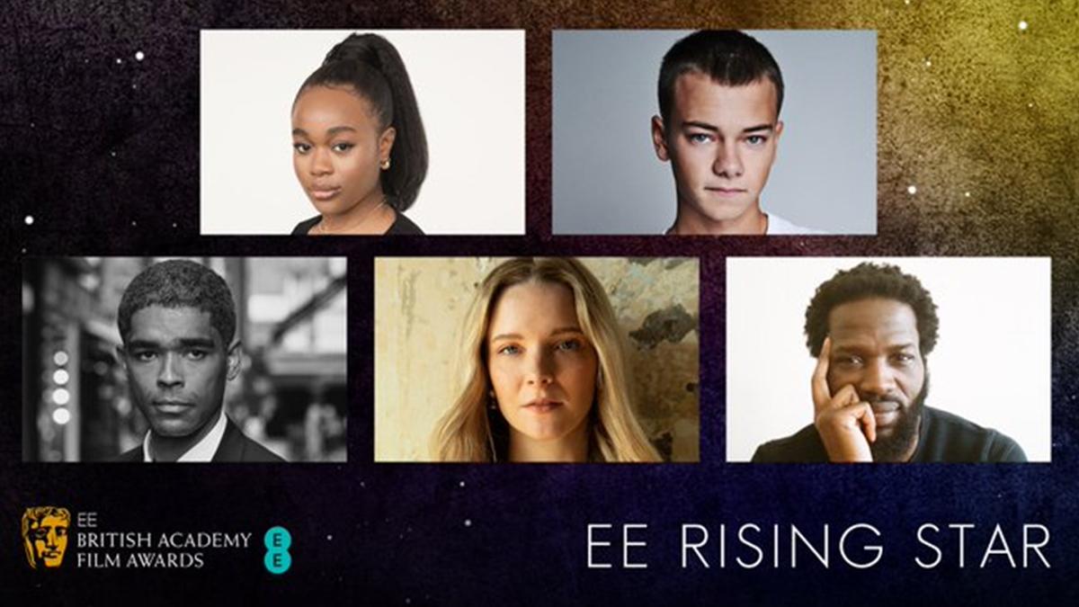 BAFTA ee 2021 rising star award