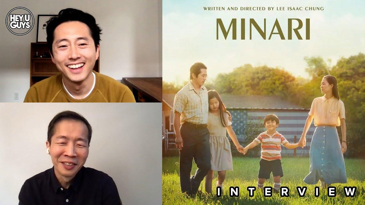 minari cast interview