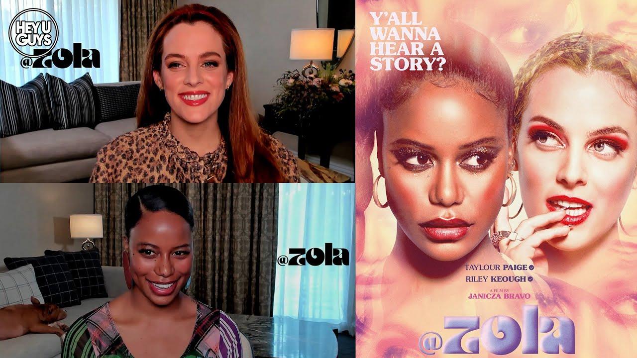 Zola cast interviews