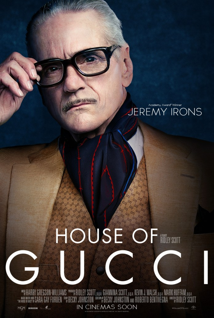 House of Gucci Jeremy Irons