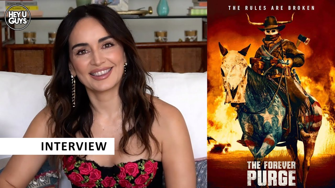 The Forever Purge cast interviews