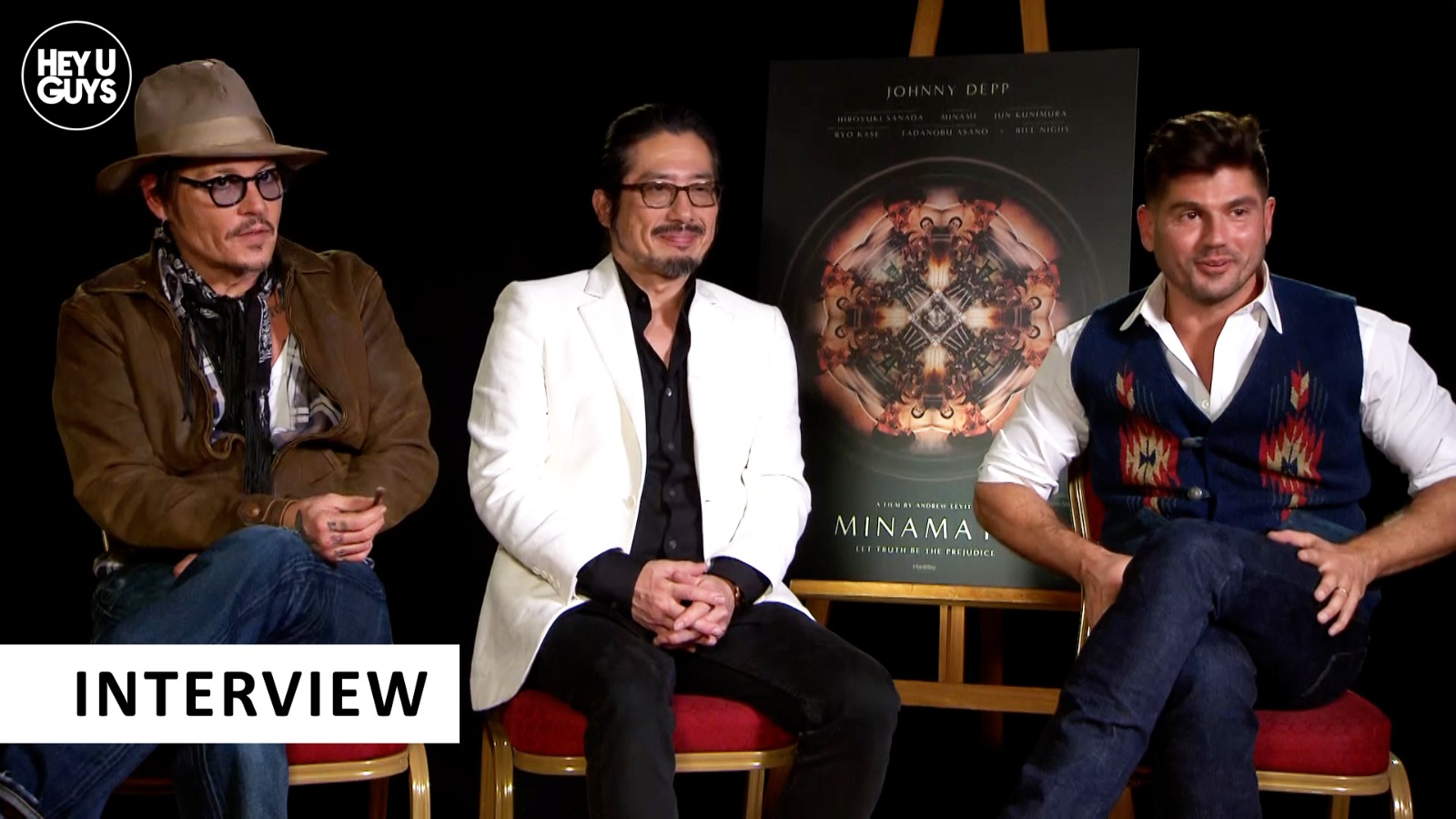 Minamata cast interviews