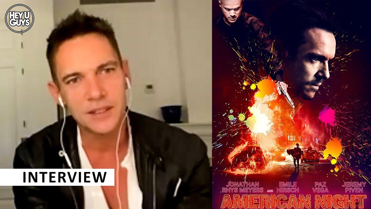 American Night cast interviews