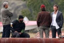 Liam Neeson, Quinton 'Rampage' Jackson, Bradley Cooper A-Team