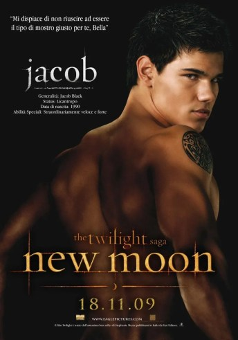 New Moon Poster - Jacob
