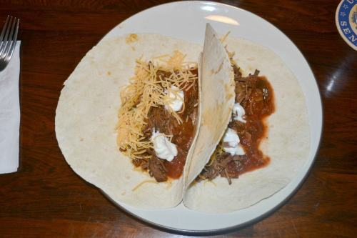 Shredded Beef Tacos made in the Slow Cooker