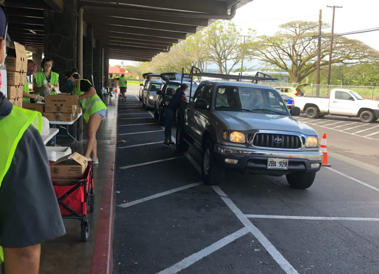 Hilo Food Drive at Civic Center