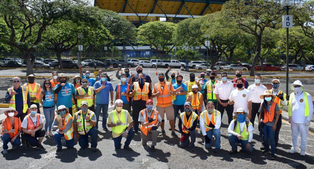 HFA staff at Aloha Stadium