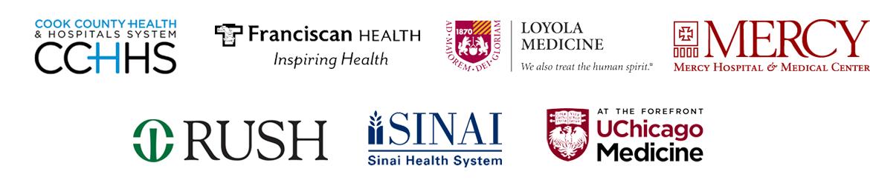 Sponsored by Cook County Health Hospital Systems * Franciscan Health * Loyola Medicine * Mercy Hospital * Rush * Sinai Health System * UChicago Medicine