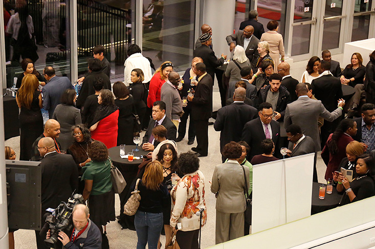 VIP Reception at the Opening Night Gala @ HFAS hosted by North Shore (IL) Chapter of The Links, Inc.