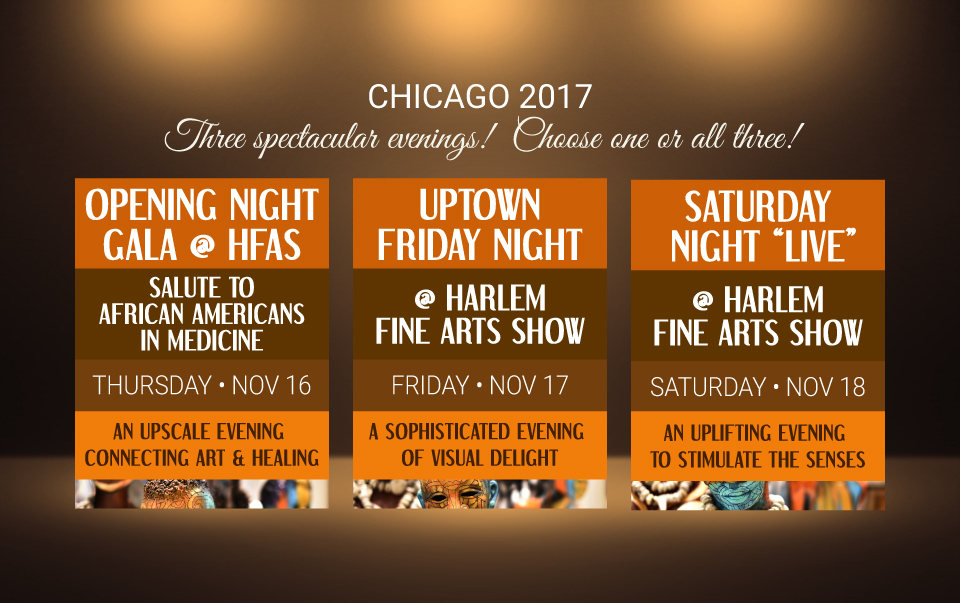 "Three spectacular evenings — Opening Night Gala, Uptown Friday Night and Saturday Night ""Live"""