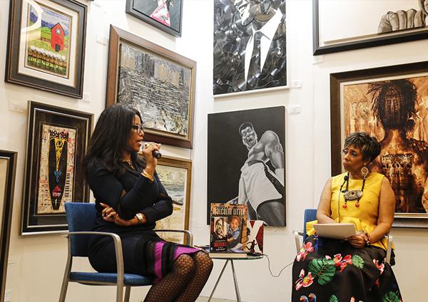 An Intimate Conversation with Authors Ilyasah Shabazz and Hermene Hartman