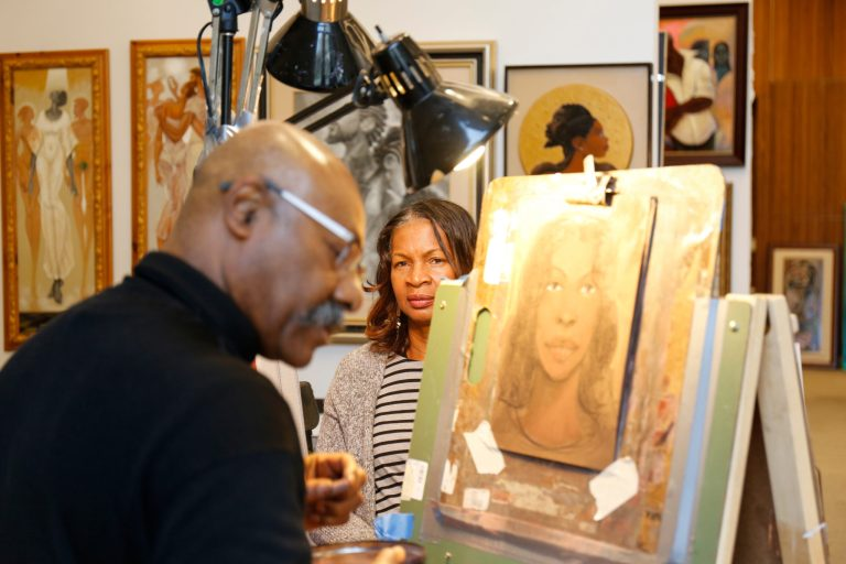 On-site portraiture at HFAS Chicago