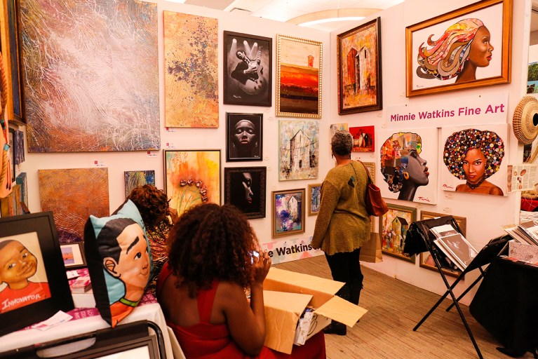 Minnie Watkins Fine Art Exhibit