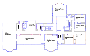 Room Diagrams & Capacity | Harvard Faculty Club