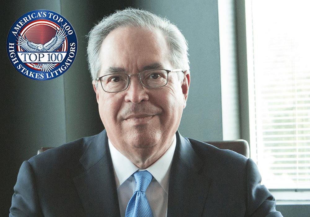 Rudy Garza Top 100 Litigator