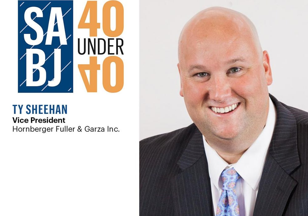 Sheehan Receives The San Antonio Business Journal's 40 Under 40 Honor