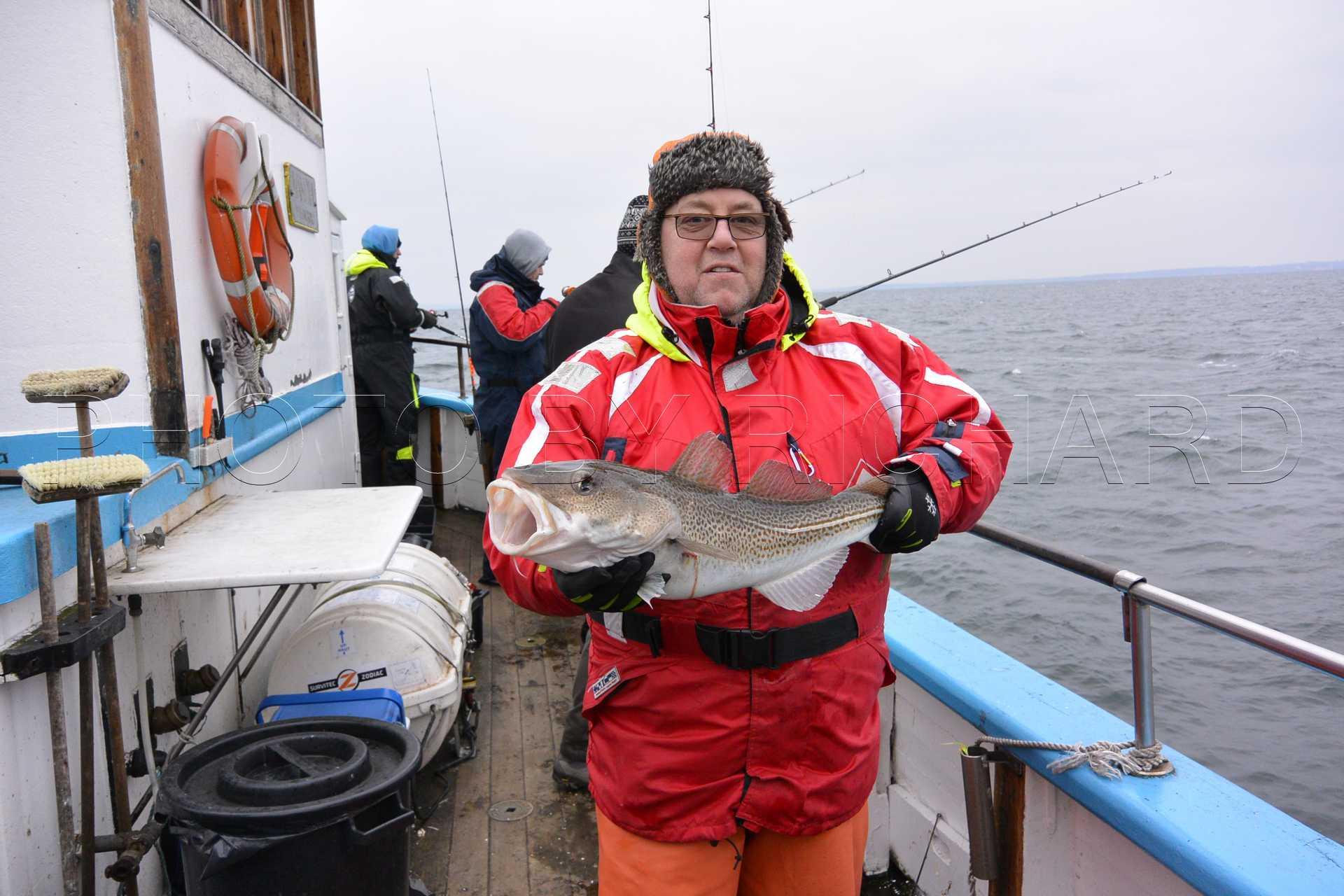 Försenat jula fiske för torsk…..O vilket skit fiske