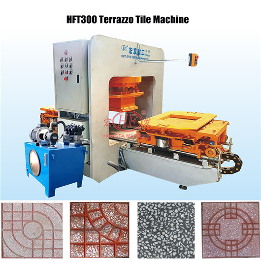 cement terrazzo tile making machine