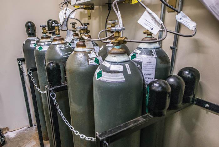 oxygen tank storage regulations