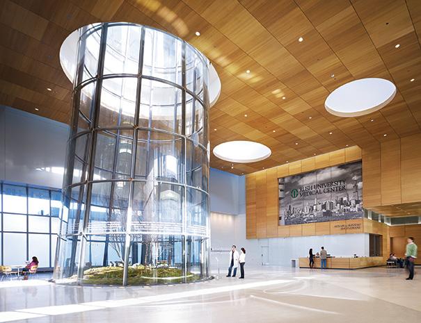 Rush Medical Center Installs Terrarium Hfm