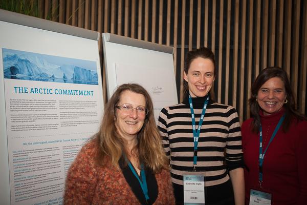 Arctic Commitment event at Arctic Frontiers, Tromso