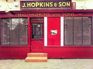 H G Hopkins & Sons - Gun Shop, Sandbach, Cheshire