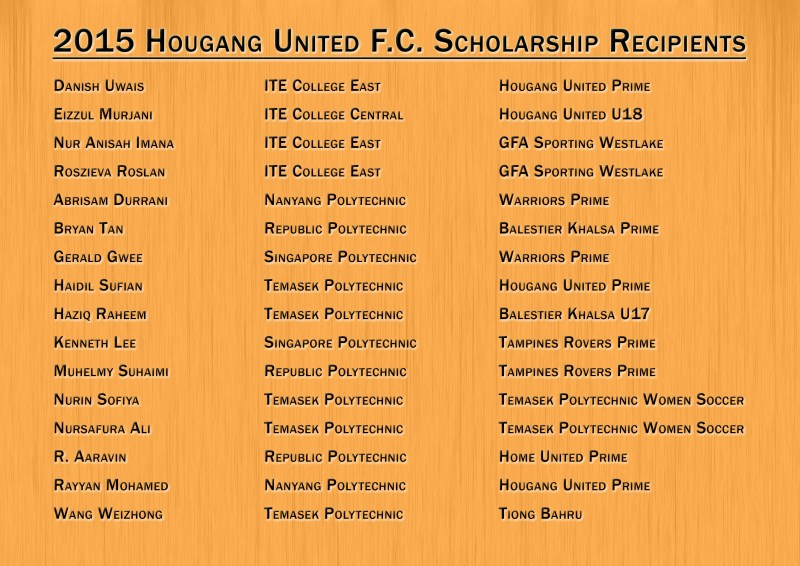 HGFC Scholarship Announcement
