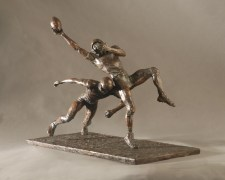 Football Players Statue