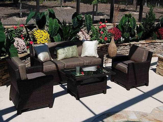 cool resin wicker patio furniture for all weather - hgnv