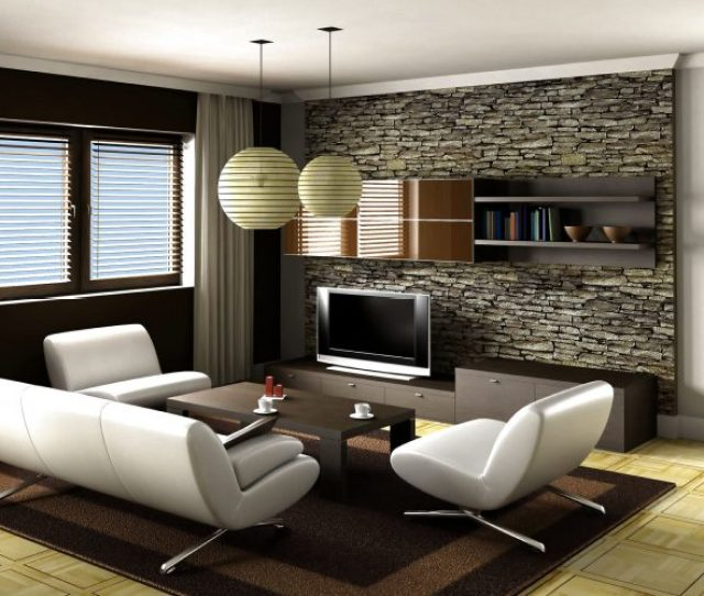 Smart Living Room Decorating Ideas With Modern Furniture Set