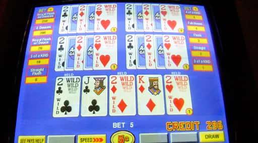 オンラインカジノのビデオポーカーは軽くて便利