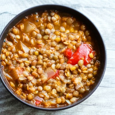 Homemade Lentil Soup – Easy And Healthy